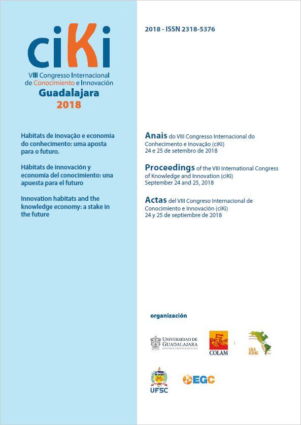 Visualizar v. 1 n. 1 (2018): Anais do VIII Congresso Internacional de Conhecimento e Inovação (ciKi)